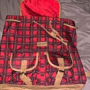 Simply southern book bag